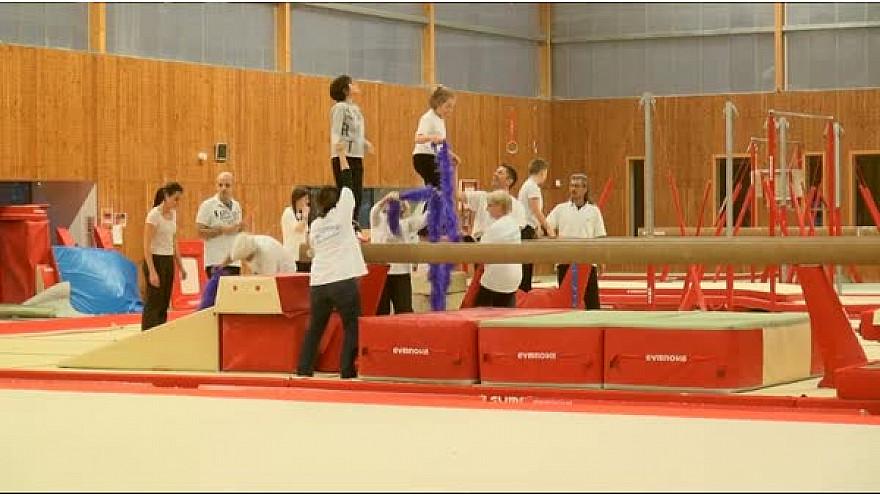 L'HandiGym  de l'Etoile Gymnique de Colomiers  participait à la soirée FESTI CLUBS LOISIRS du 19 novembre à #Colomiers